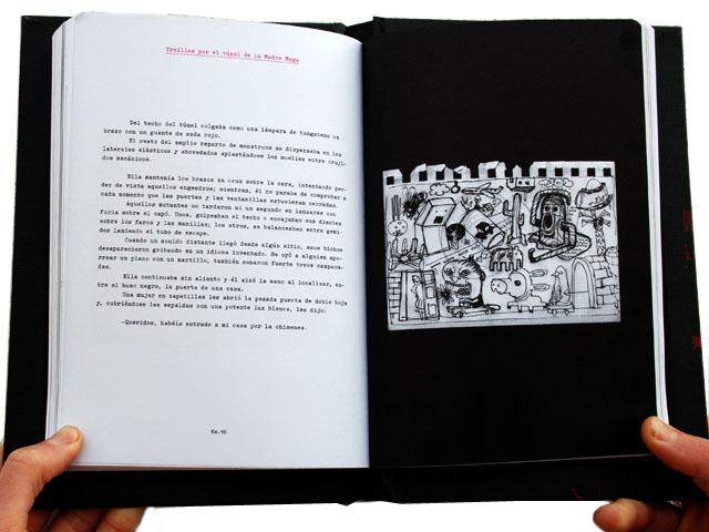 6 am - garbattage book. Albert Bertolín contribuition page.