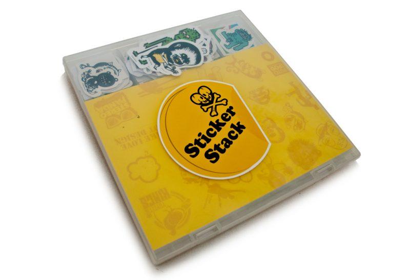 Stiker Stack book
